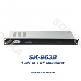 Audio video to RF modulator